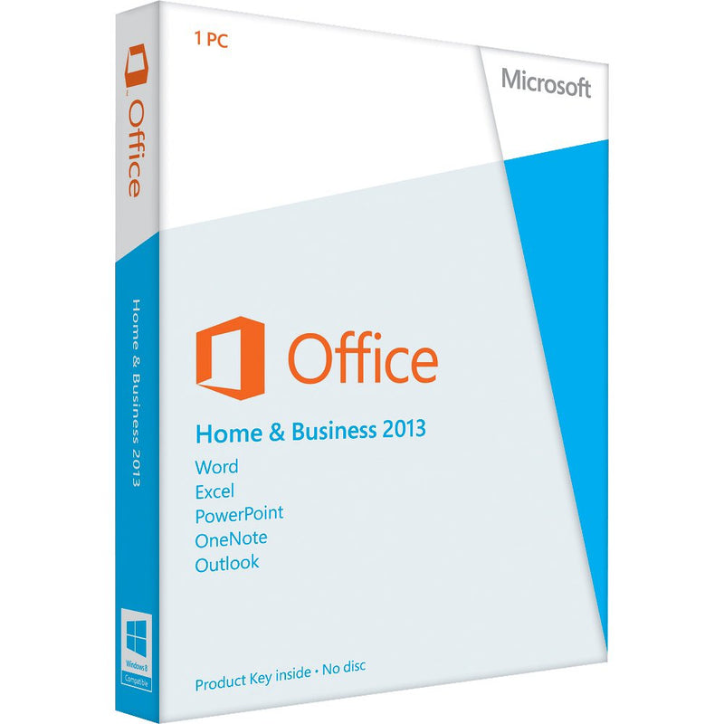 Microsoft Office 2013 Home and Business - Key Card Box