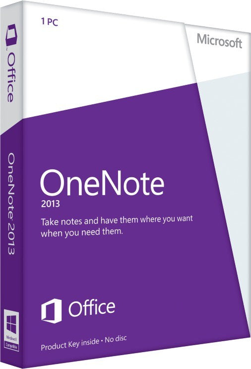 Microsoft OneNote 2013 (French) - Key Card Box