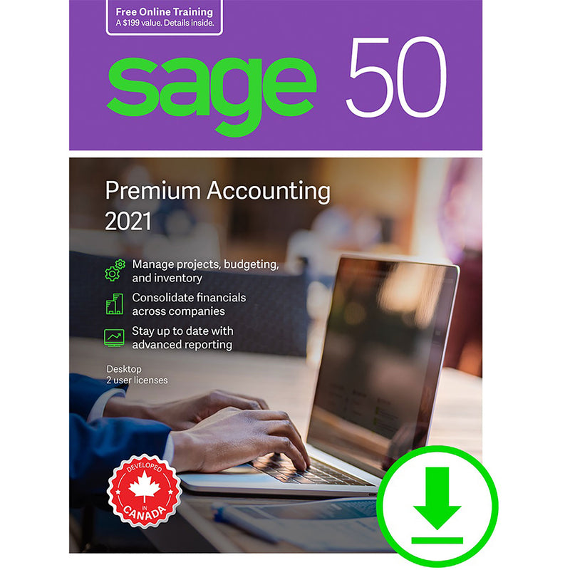 Sage 50 Premium Accounting 2021 - Download