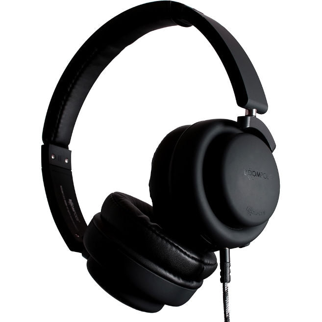 Boompods Hush Noise Cancelling Headphones (Black) (Open Box)