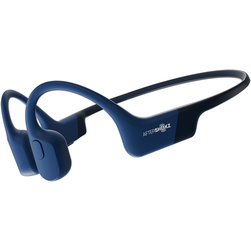 Aftershokz Aeropex Open-Ear Wireless Headphones (Blue Eclipse)