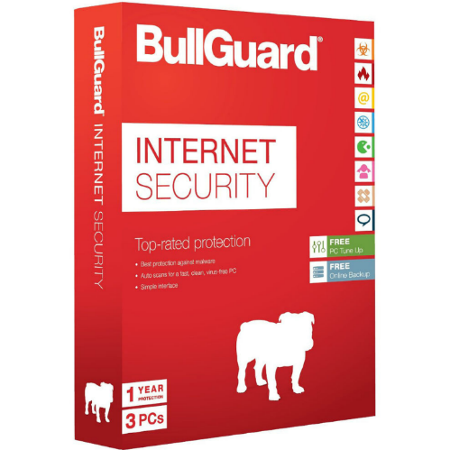 Bullguard Internet Security for 3 PC (1 Year) - Retail Box