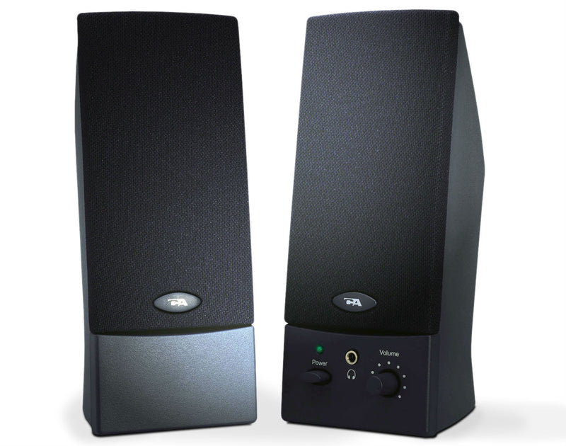 Cyber Acoustics 3 Watts 2.0 Amplified Computer Speaker System