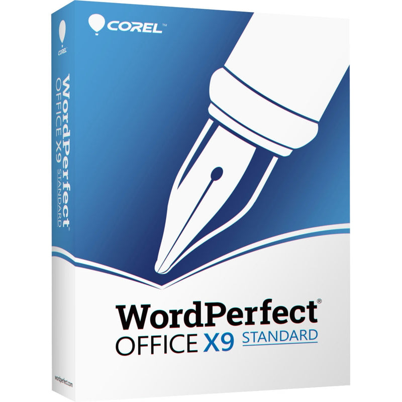 Corel WordPerfect Office X9 Standard - Retail Box