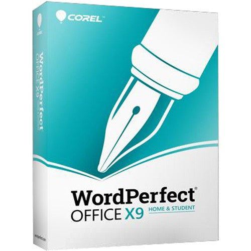 Corel WordPerfect Office X9 Home & Student for Windows - Retail Box