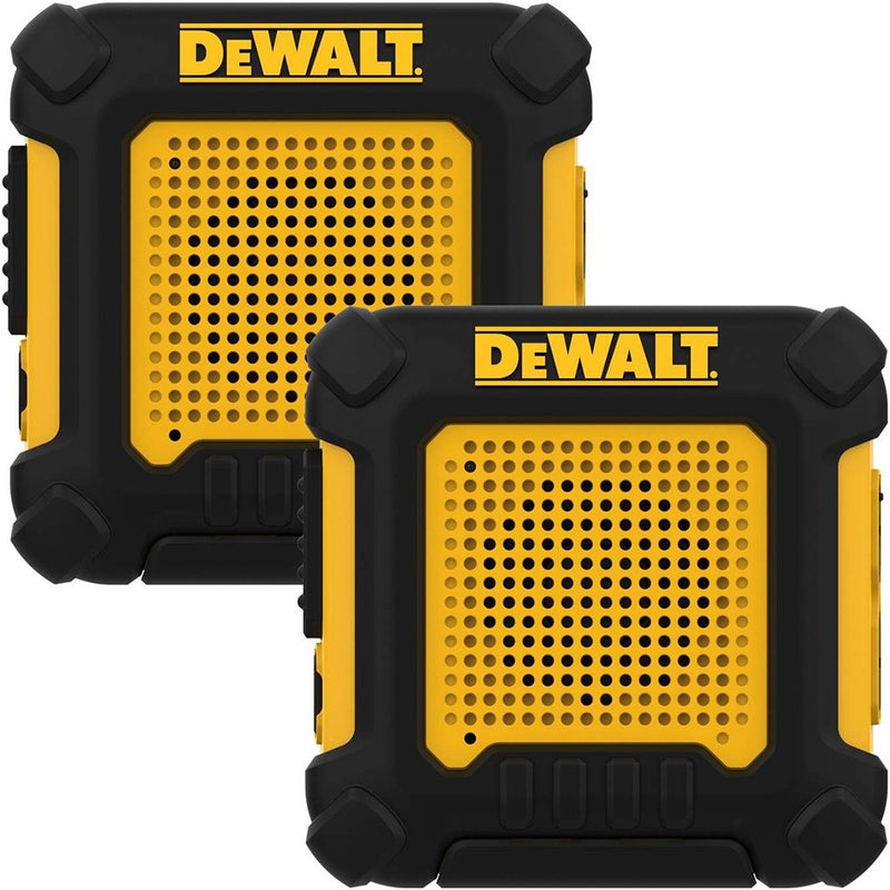 DeWalt DXFRS220 Handsfree Wearable Two-Way Radio - 2 Pack