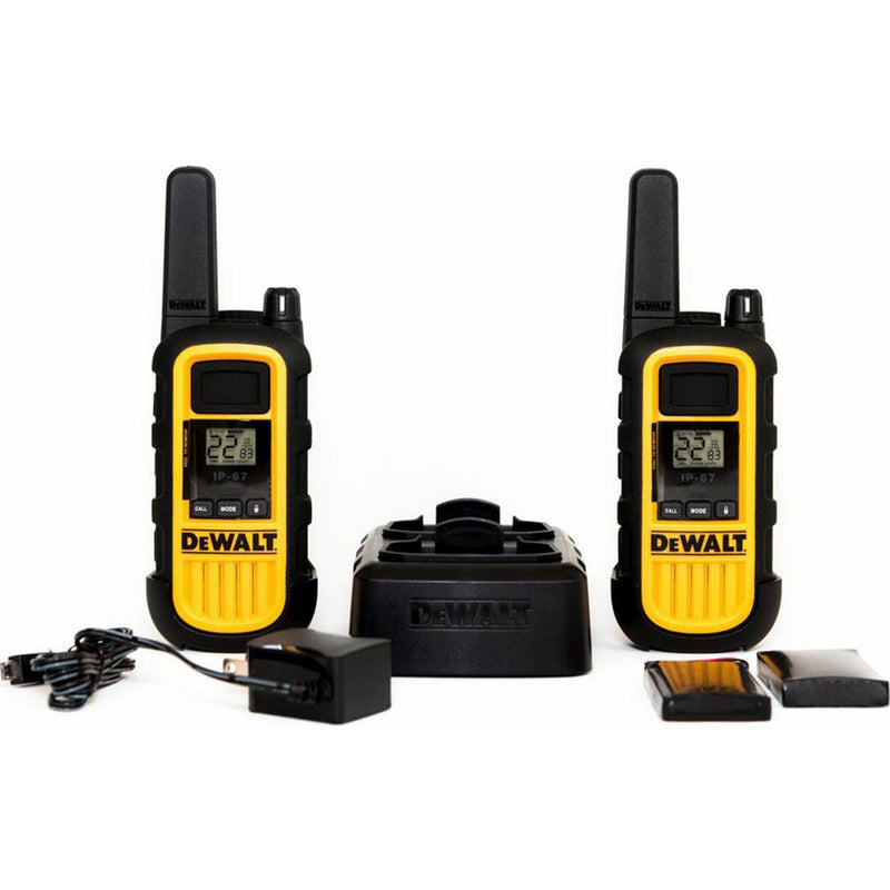 DeWalt DXFRS800 Rechargeable Two-Way Radio - 2 Pack