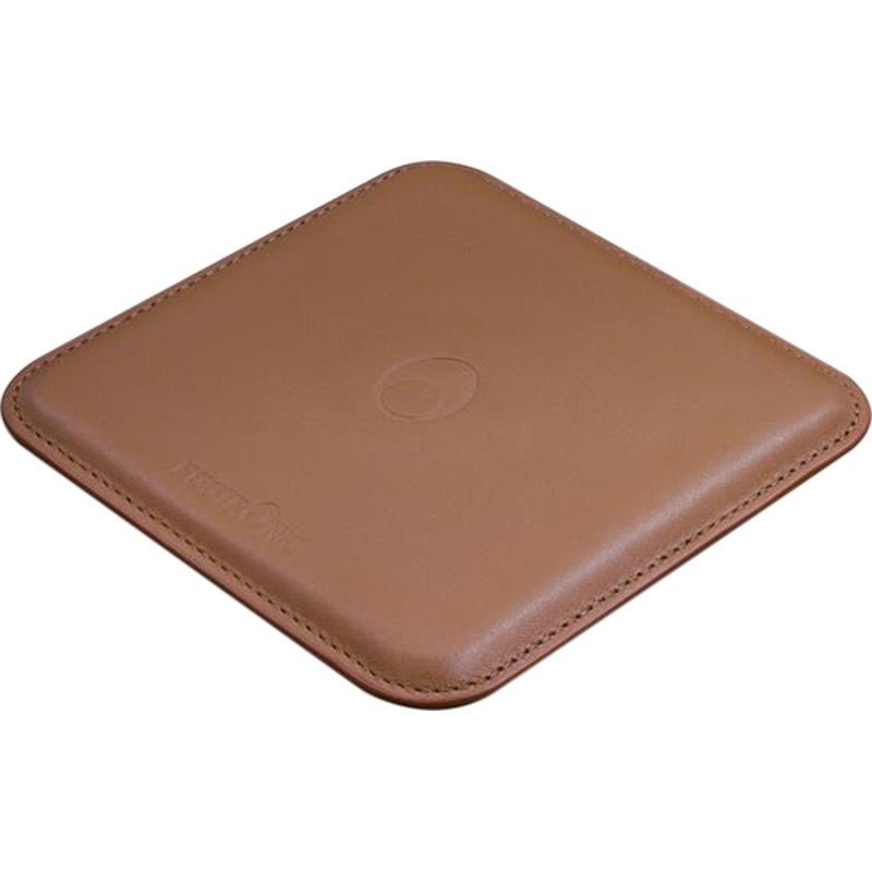 Eggtronic 15W Wireless Charging Leather Pad (Brown)