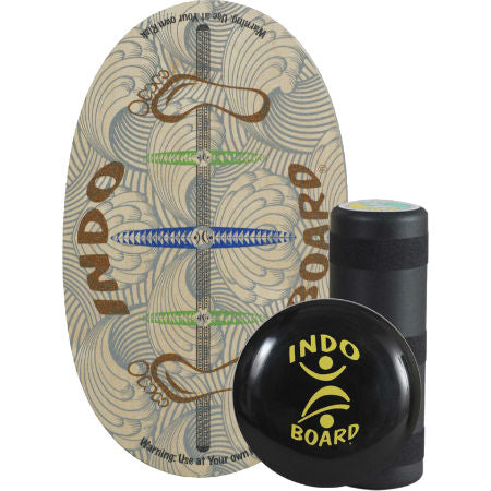Indo Board Original Training Pack with Roller & Cushion (Barefoot)