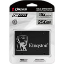 "Kingston KC600 2.5"" 256GB SATA III Internal Hard Drive"