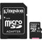 Kingston Canvas Select MicroSDHC Class 10 64GB Flash Memory Card