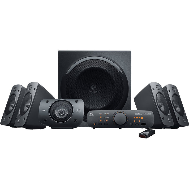 Logitech Z906 5.1 Surround Sound Speaker System (Black)