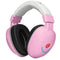 Lucid Audio Infant Hearmuffs Adjustable Headphones (Pastel Pink)