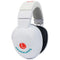 Lucid Audio Infant Hearmuffs Birth to 4 Years Adjustable Headphones (White)
