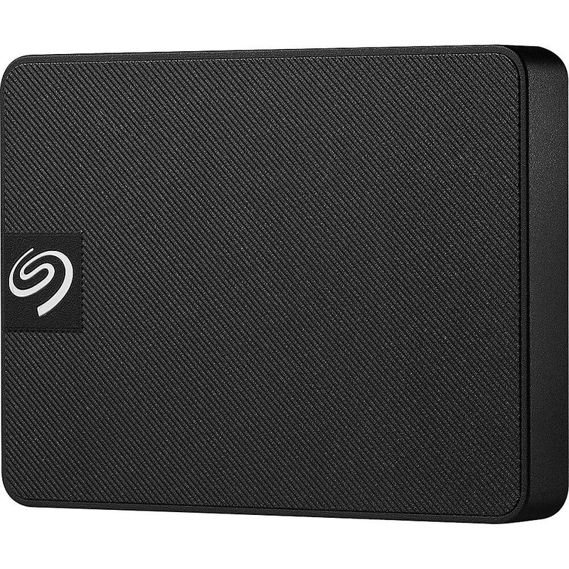 Seagate Expansion 500GB USB 3.0 External SSD (Black)