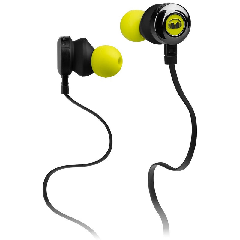 Monster Clarity HD In-Ear Headphones (Neon Green)