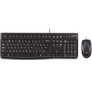 Logitech MK120 Desktop Keyboard and Mouse Combo - English
