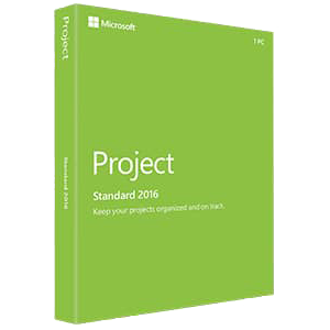 Microsoft Project 2016 Standard - Key Card Box