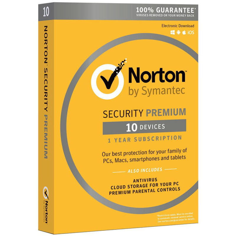 Norton Security Premium with 25GB Backup - Download