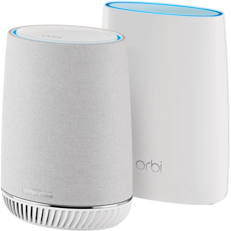 Netgear Orbi Mesh Wi-Fi Router System with Orbi Voice Smart Speaker