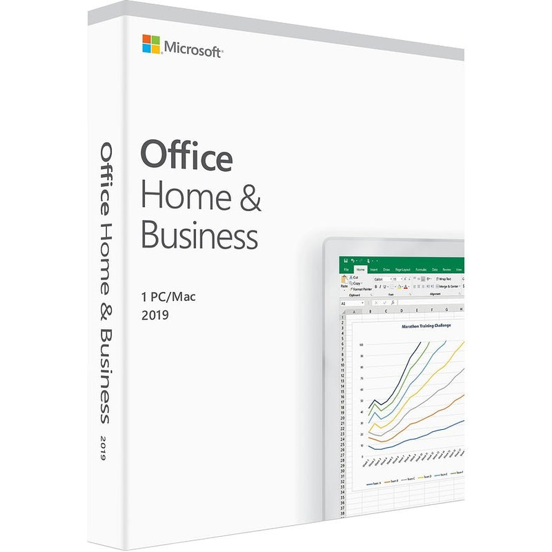 Microsoft Office 2019 Home and Business for 1 PC/Mac - Download