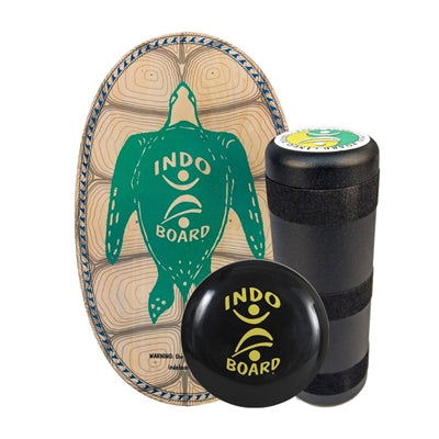 Indo Board Original Training Pack with Roller & Cushion (Sea Turtle)