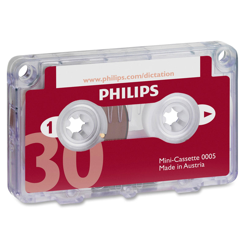 Philips LFH0005 30-Minute Mini Cassette Tape