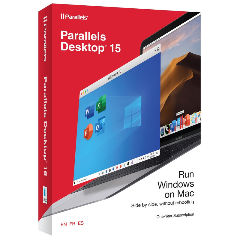Parallels Desktop 15 for Mac (1 Year Subscription) - Retail Box
