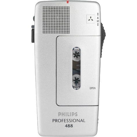 Philips LFH0488 MINIcassette Recorder