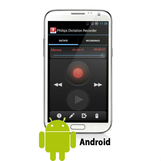 Philips SpeechExec Dictation Hub for Android (1 Year License)