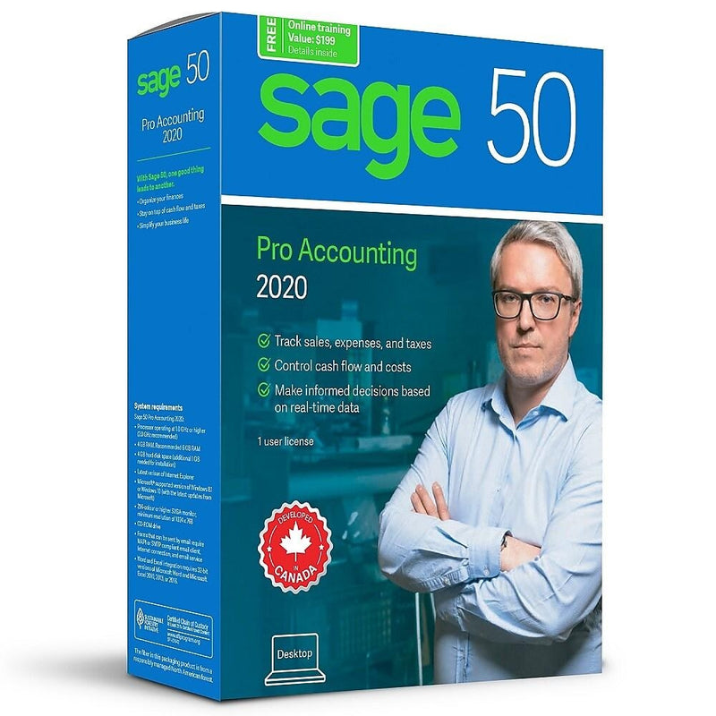 Sage 50 Pro Accounting 2020 - Download