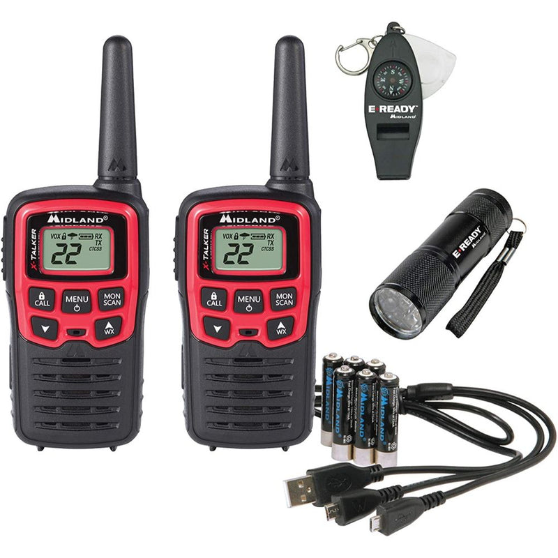 Midland X Talker EX37VP 26-Miles Two-Way Radios - 2 Pack