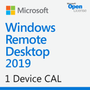 Microsoft Windows Remote Desktop Services 2019 1 Device CAL - Open License