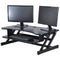 "Rocelco Deluxe 37"" wide Height Adjustable Standing Desk Riser"