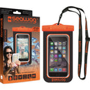 Seawag Waterproof Case for Smartphone (Black/Orange)