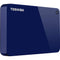 Toshiba Canvio Advance 4TB USB 3.0 External Hard Drive (Blue)