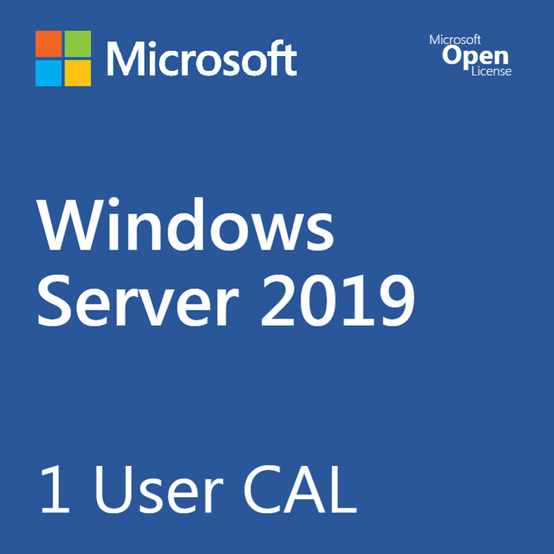 Microsoft Windows Server 2019 1 User CAL - Open License