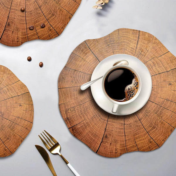 Tree Trunk Placemats