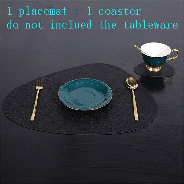 Geo Placemat and coaster