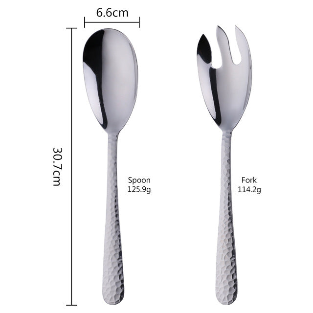 Beacon Serving Spoon and Fork