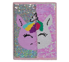 Load image into Gallery viewer, Unicorn Reversible Sequin Journal