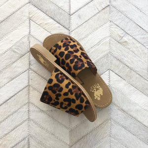Leopard Slide On