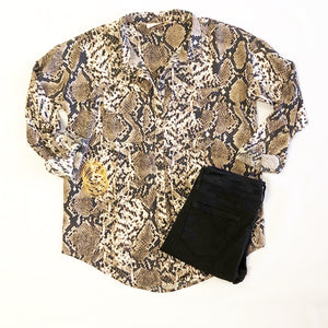 Snake L/S Button Down