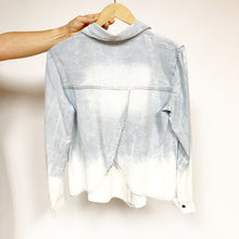 Load image into Gallery viewer, Denim Tencel Fly Back Top