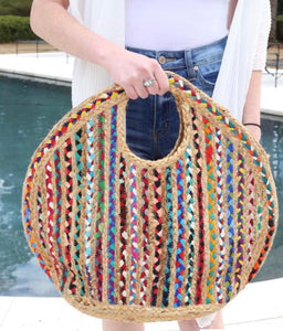 Charley Straw/Braided Bag