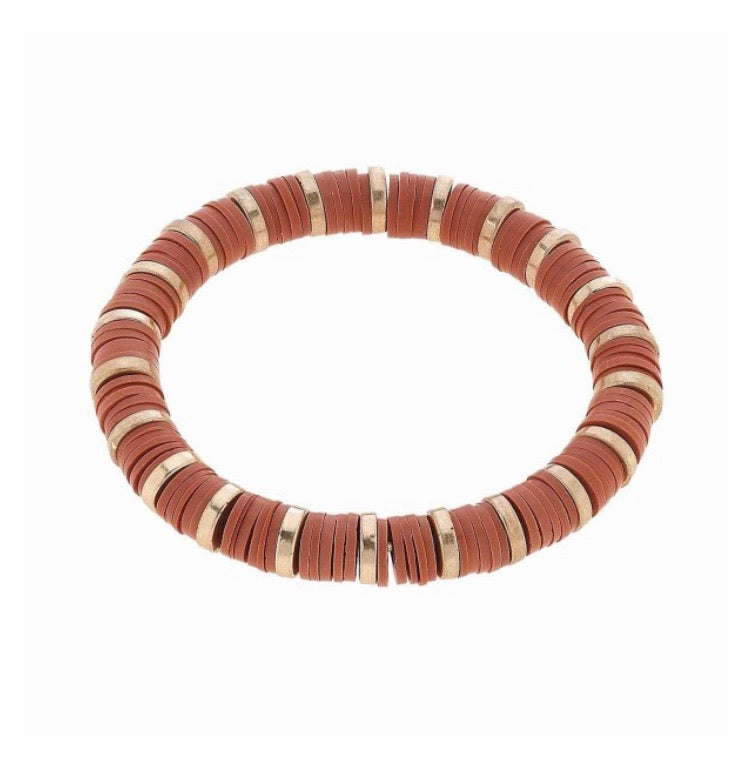 Blush Rubber Stretch Bracelet