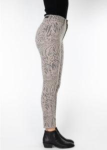 Heather Tiger Print Jean