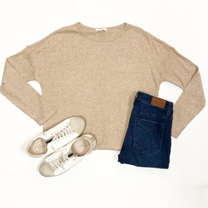 Robbie Ribbed L/S Top