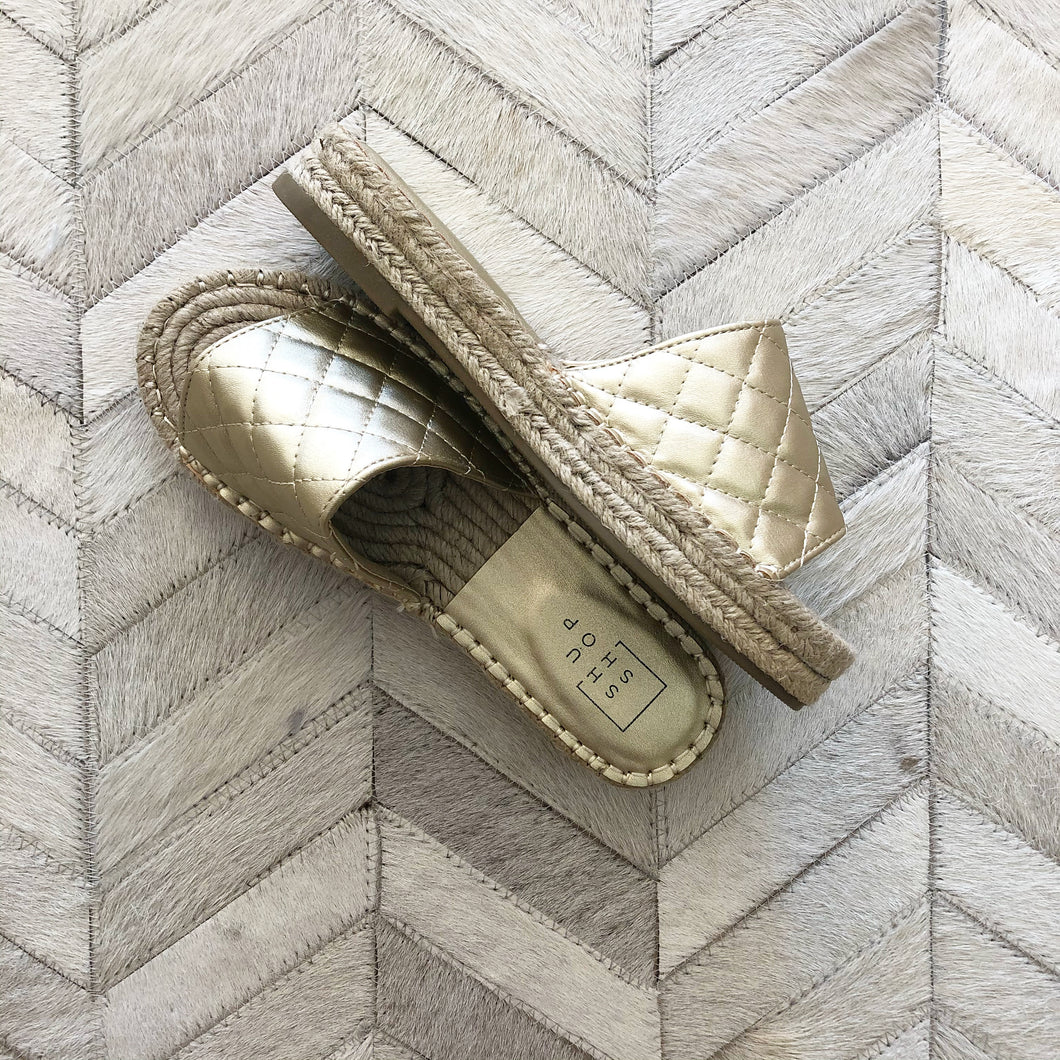 Quilted Slide On