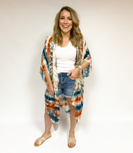 Load image into Gallery viewer, Tie Dye Kimono